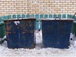 контейнеры расставленные по всему Афанасово